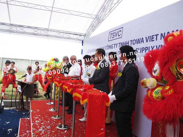 Tổ chức lễ khai trương với các công ty tổ chức sự kiện