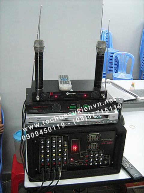 Các thiết bị cần thiết cho dàn âm thanh hội trường