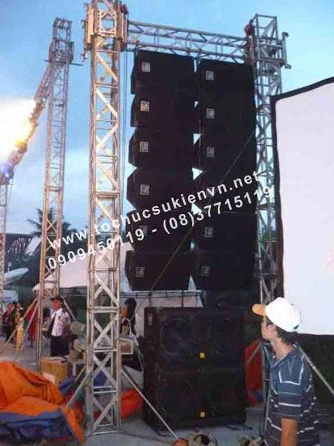 Bảo quản hệ thống âm thanh cho sân khấu
