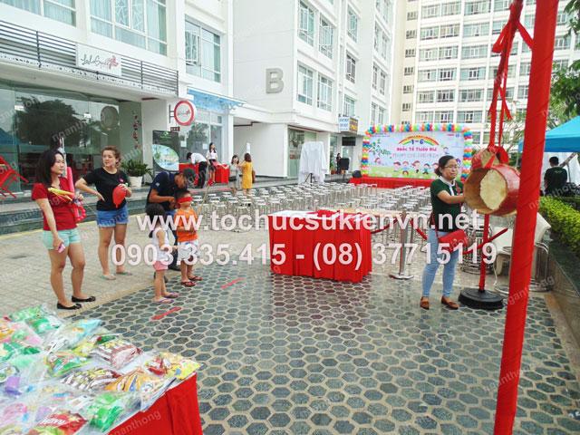 Tổ chức tiệc 1/6 tại Cao ốc Phú Hoàng Anh 3