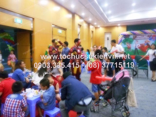 Cho thuê bàn ghế tổ chức Quốc tế thiếu nhi 1/6 tại công ty Bosch  11