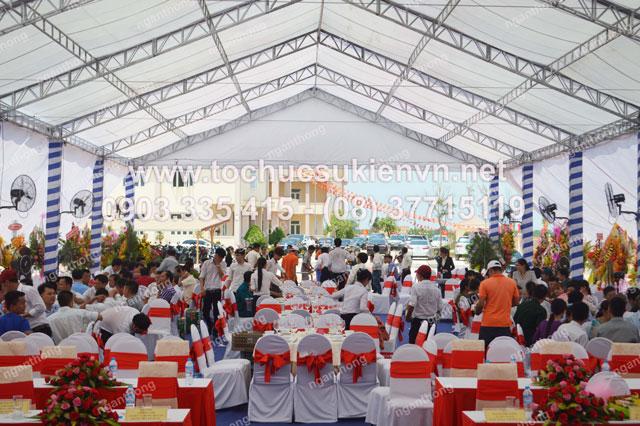 Ngàn Thông chuyên tổ chức các sự kiện khởi công, khánh thành, khai trương 11