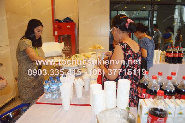 Tổ chức tiệc buffet cho 1/6 Imperial An Phú