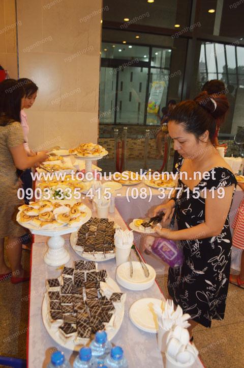Tổ chức tiệc buffet cho 1/6 Imperial An Phú 2