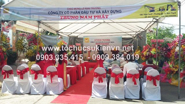Cho thuê bàn ghế khai trương Trung Nam Phát 4