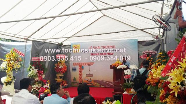 Cho thuê bàn ghế khai trương Trung Nam Phát 7