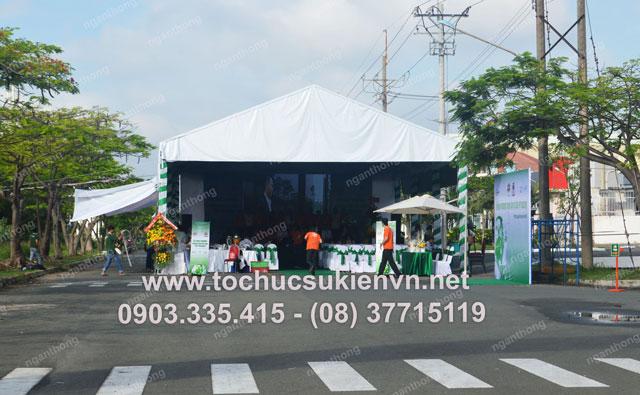 Cho thuê nhóm múa tại lễ khai trương FPT  3