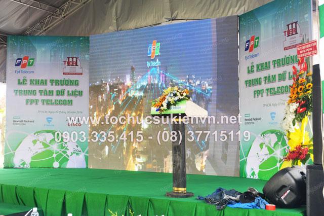 Ngàn Thông tổ chức lễ khai trương FPT  8