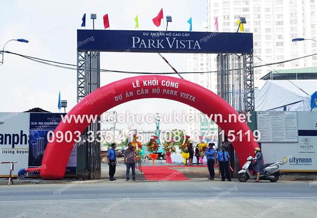 Tổ chức lễ động thổ Park Vista