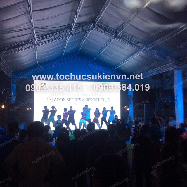 Lễ khai trương Celadon Sport và Resort Club 15