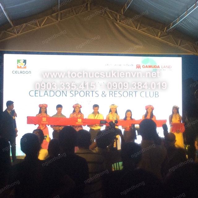 Lễ khai trương Celadon Sport và Resort Club 18