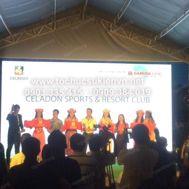 Lễ khai trương Celadon Sport và Resort Club 19