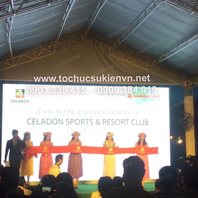 Lễ khai trương Celadon Sport và Resort Club 24