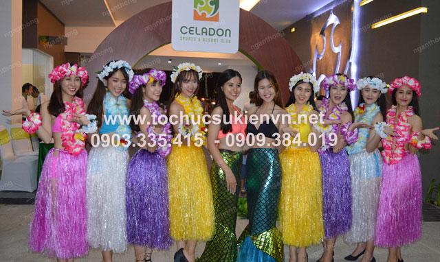 Lễ khai trương Celadon Sport và Resort Club 4