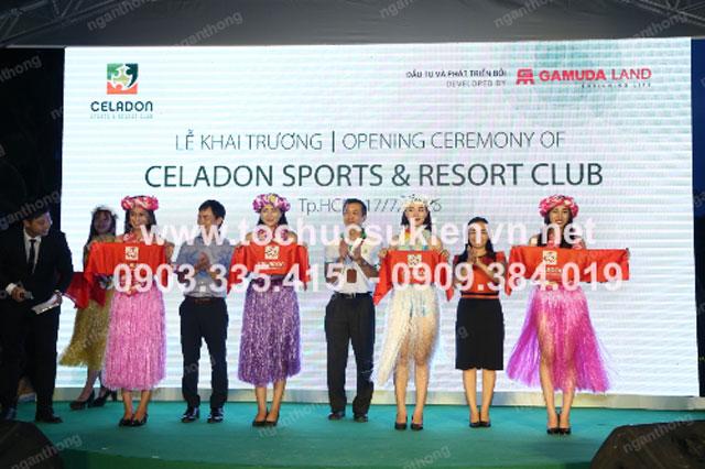 Lễ khai trương Celadon Sport và Resort Club 6