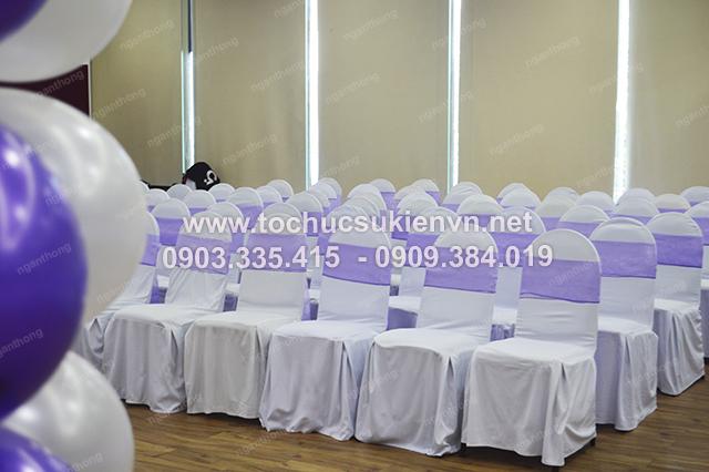 Ngàn Thông - thiết kế backdrop tổ chức họp mặt summer gala 3