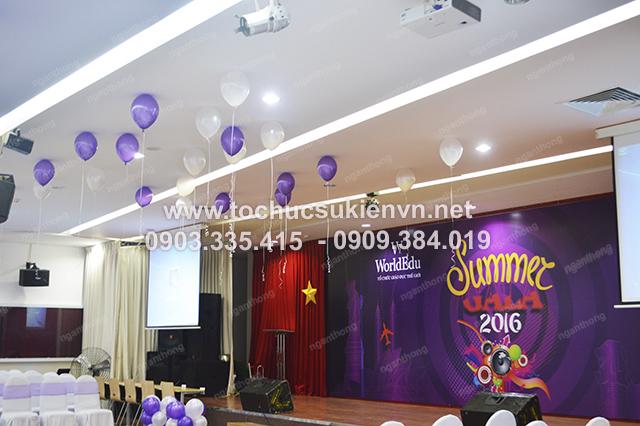 Ngàn Thông - thiết kế backdrop tổ chức họp mặt summer gala 4