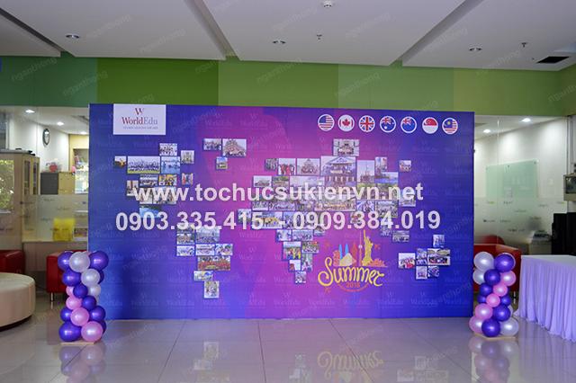 Ngàn Thông - thiết kế backdrop tổ chức họp mặt summer gala 7