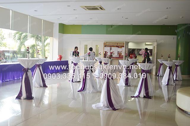 Ngàn Thông - thiết kế backdrop tổ chức họp mặt summer gala 10