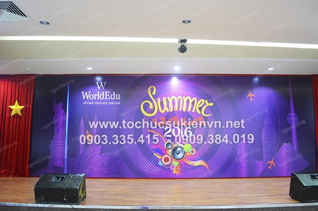 Tổ chức họp mặt summer gala 2