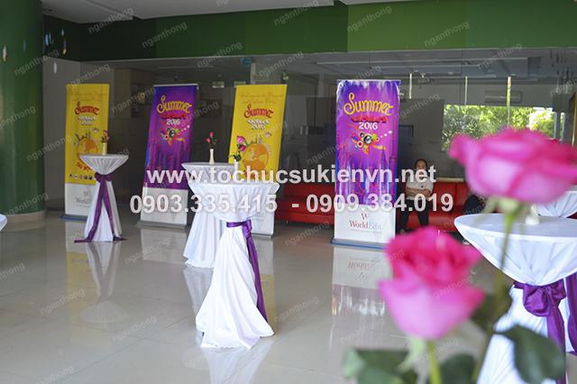 Ngàn Thông - Cho thuê bàn ghế cocktail tổ chức gala họp mặt