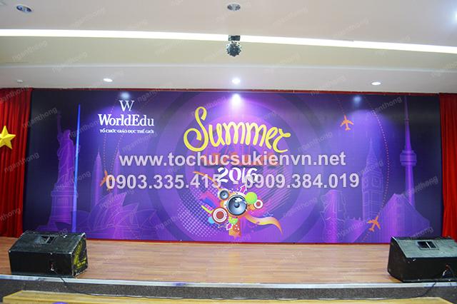 Tổ chức họp mặt summer gala 3