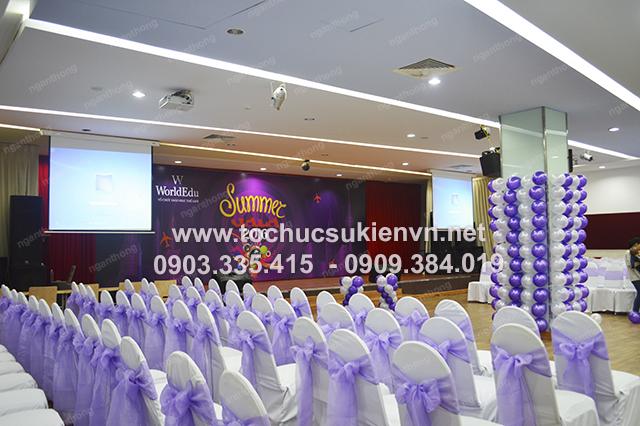 Tổ chức họp mặt summer gala chuyên nghiệp