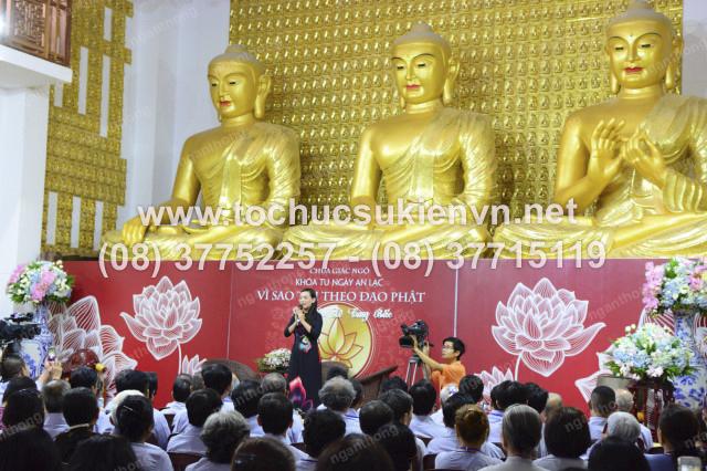 tổ chức sự kiện khóa tu chùa Giác Ngộ 1