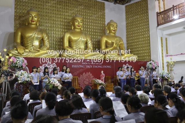 tổ chức sự kiện khóa tu chùa Giác Ngộ 3