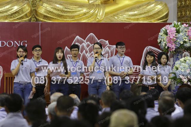 tổ chức sự kiện khóa tu chùa Giác Ngộ 4