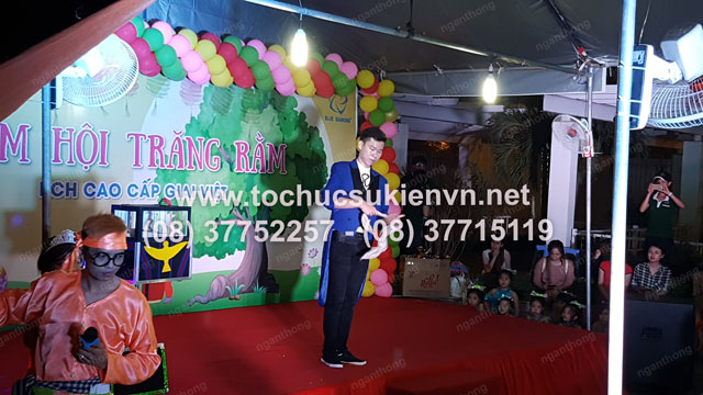 Tổ chức trung thu tại chung cư cao cấp Giai Việt 5