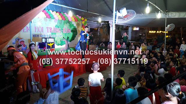 Tổ chức trung thu tại chung cư cao cấp Giai Việt 6