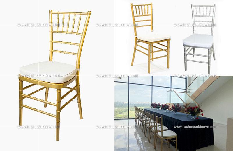 Dịch vụ cho thuê bàn ghế tiệc Cho-thue-ban-ghe-Tifany-1