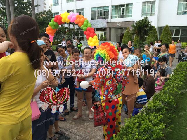 Tổ chức trung thu tại chung cư cao cấp Giai Việt 12