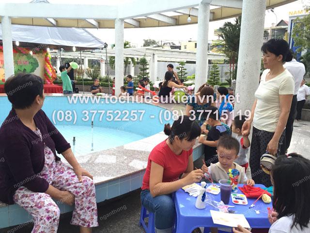 Tổ chức trung thu tại chung cư cao cấp Giai Việt 13
