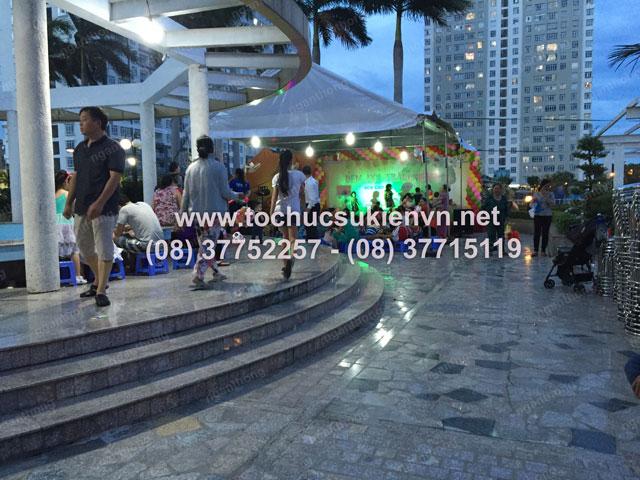Tổ chức trung thu tại chung cư cao cấp Giai Việt 16