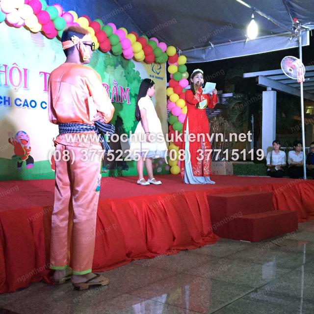 Tổ chức trung thu tại chung cư cao cấp Giai Việt 17