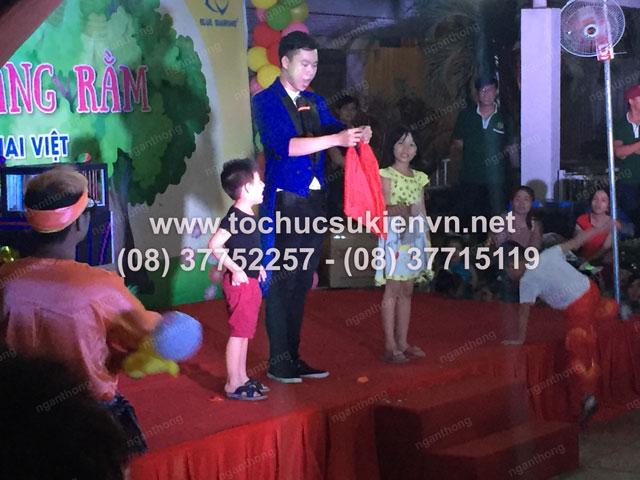 Tổ chức trung thu tại chung cư cao cấp Giai Việt 23