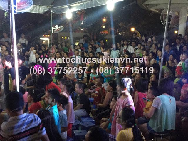 Tổ chức trung thu tại chung cư cao cấp Giai Việt 24
