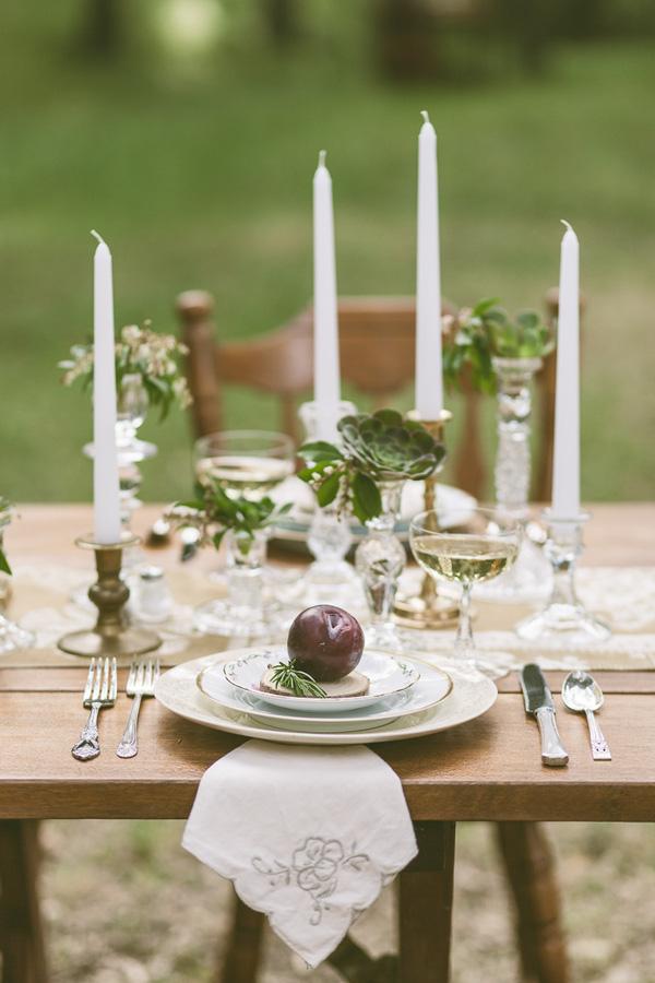 Trang trí tiệc cưới theo phong cách vintage 2