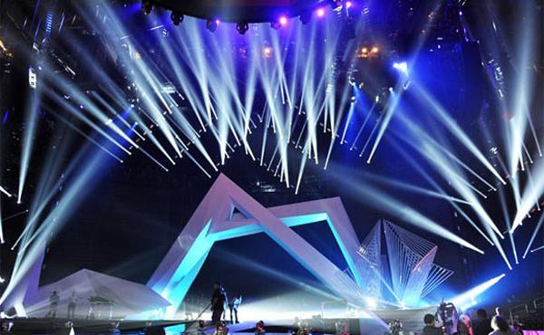 Dàn âm thanh ánh sáng sân khấu chất lượng