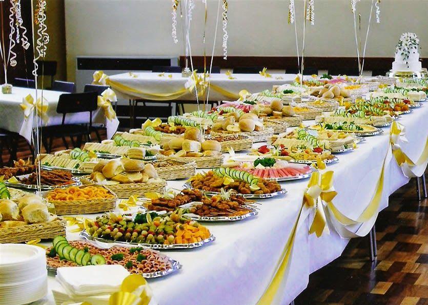 thuê bàn buffet