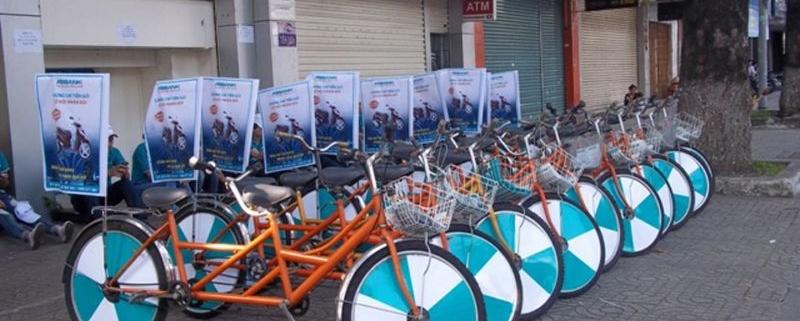 thuê xe đạp xe máy