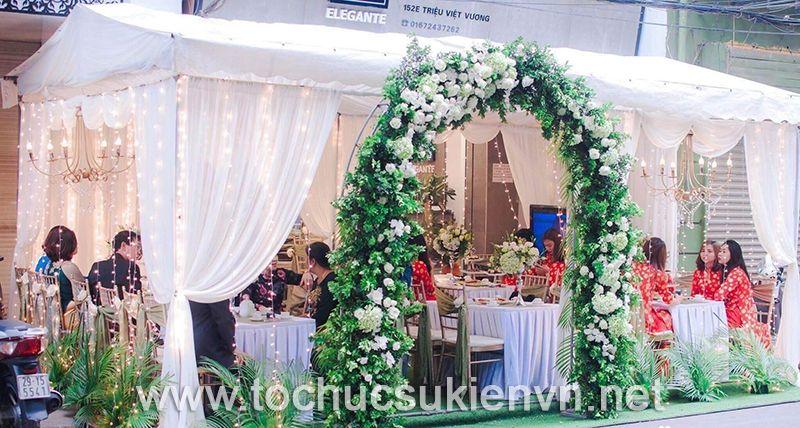 Thuê khung rạp đám cưới