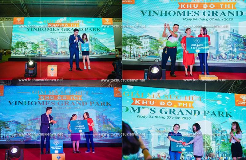 Event Vinhomes Grand Park