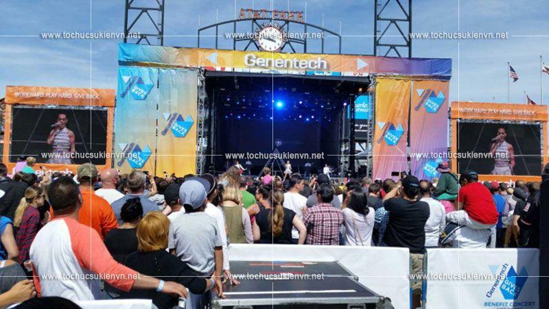 chương trình sự kiện âm nhạc thu hút