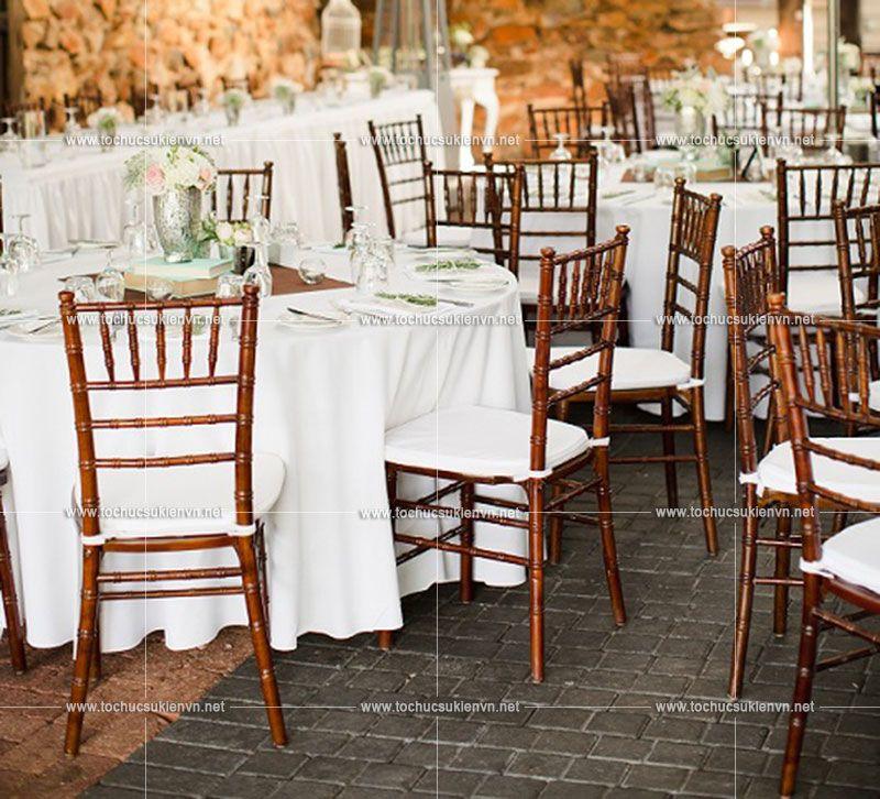 thuê ghế đám cưới sang trọng