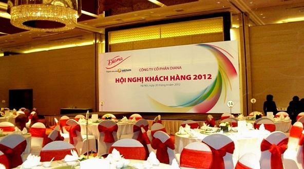 backdrop hội nghị khách hàng