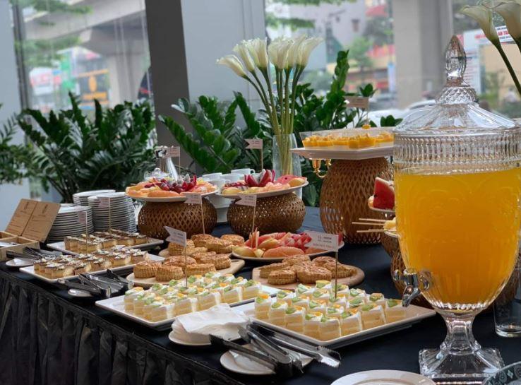 thực đơn tiệc tea break